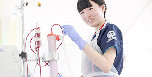 臨床工学技士(国家資格)を取得可能