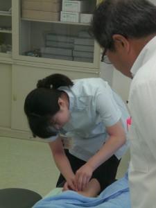 鍼実技試験1
