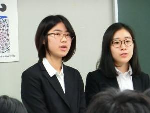 2年19期生の井馬・川嶋