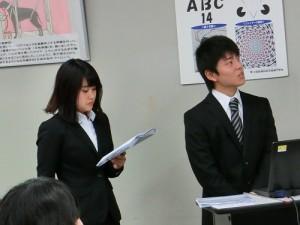 3年18期生の林千奈美・中西