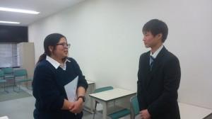本多先生と学生(個別)