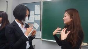 松下先生と学生(個別)