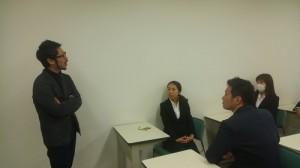 松村先生と学生(個別)