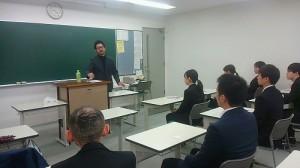松村先生と学生