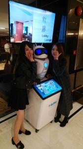 観光ロボット
