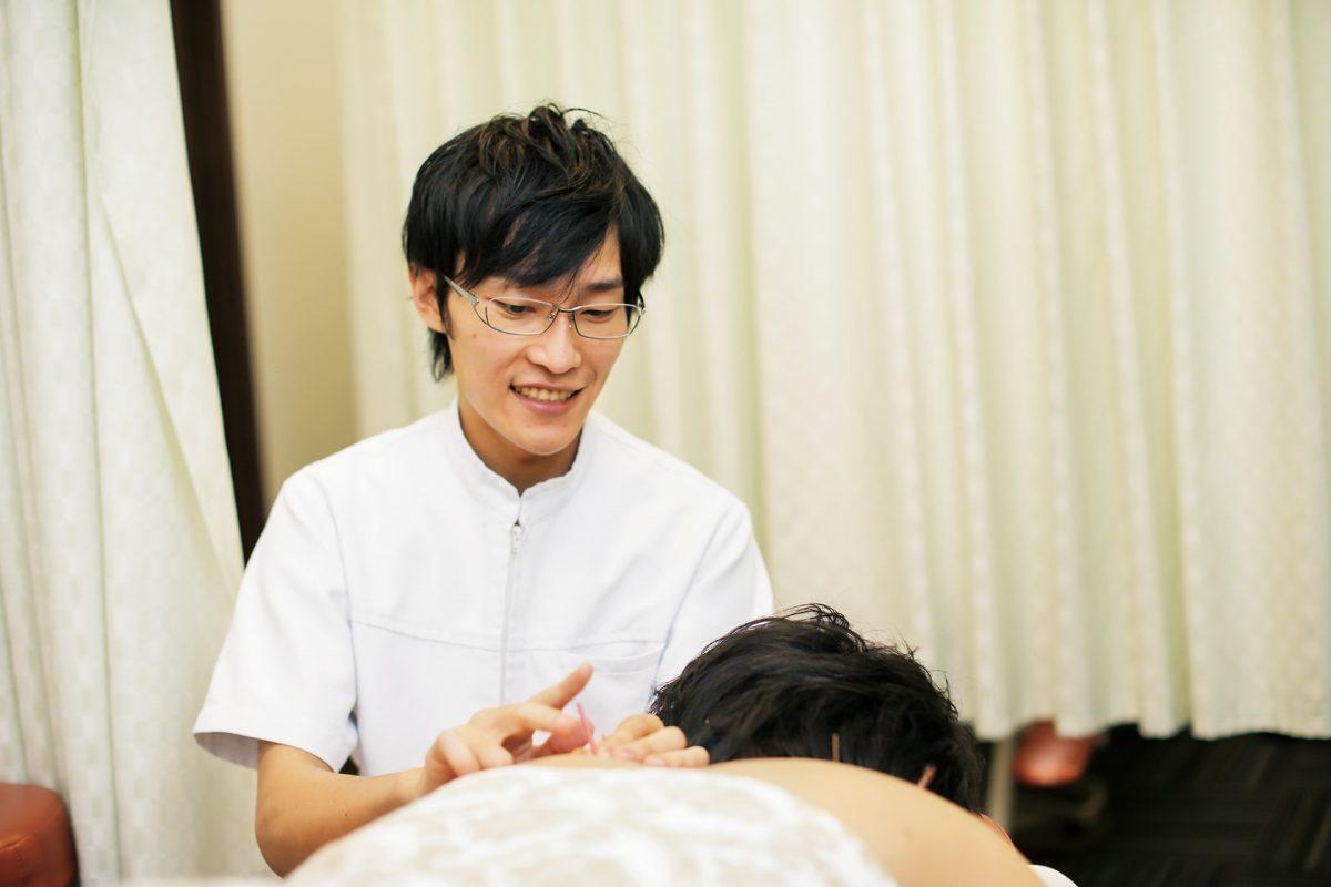 鍼灸の知識と技術に加え、会社組織の幹部として経営力も磨きたいです。
