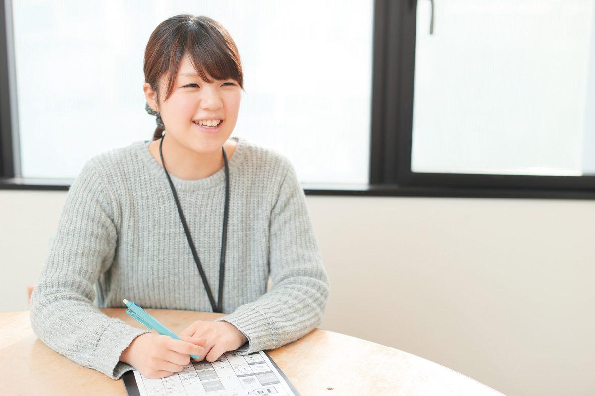 「福島さんの顔を見ると安心」その言葉を励みに、努力しています。